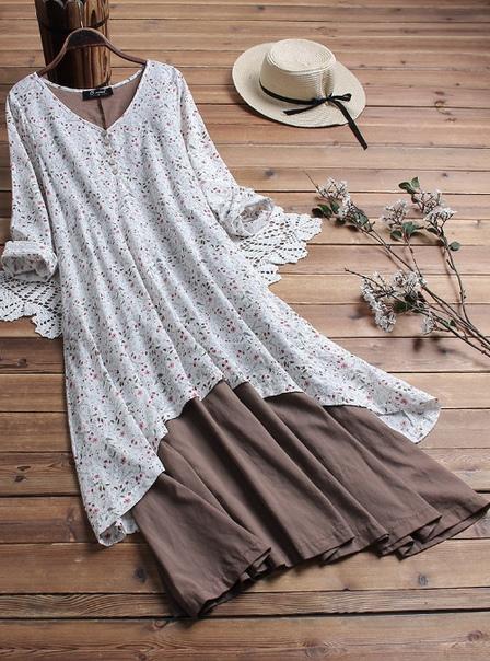 Женские блузки из хлопка - повседневно и удобно.