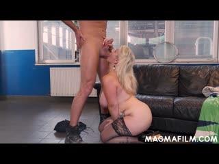 Трахает зрелую немку после работы, mature mom milf sex porn busty big tit boob ass fuck bang german cum new full (Hot&Horny)