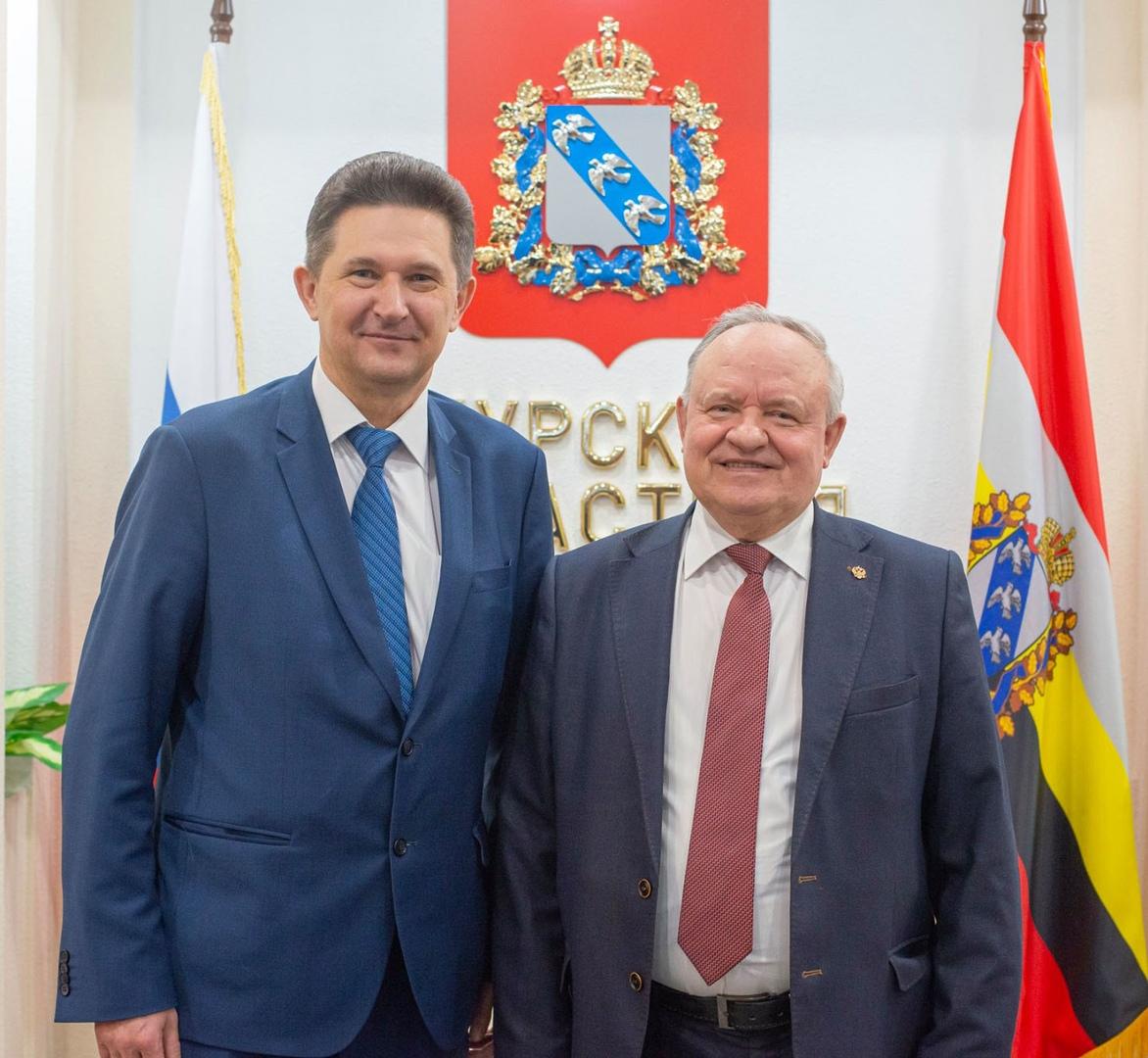 Ректор ЮЗГУ и экс-председатель облсуда стали Почётными гражданами Курской области