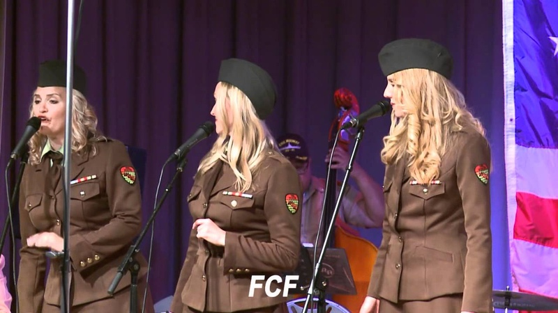 Pete Jacobs Wartime Radio Revue Band Plays for San Clemente Rotary's 19th Evening of dance