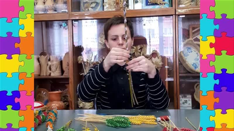 Мастер класс по изготовлению пасхальной вербы Кореличский Дом ремесел