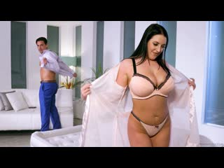 Angela White - Friends Reacquainted (Massage, Oil, Big Ass, Big Tits, Blowjob, Black Hair, Natural Tits)