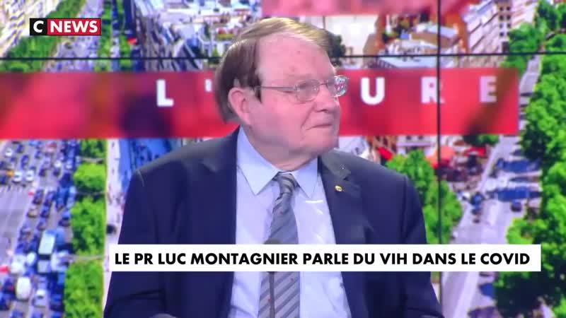 Le passage complet de Luc Montagnier sur CNews où il parle du Covid 19 et du VIH