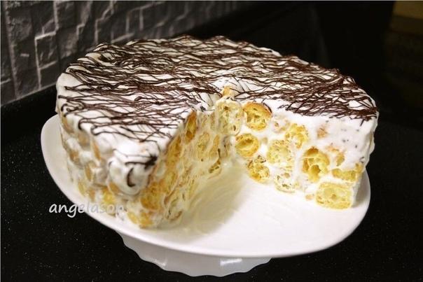 Превосходный Торт Дамские пальчики. Нужно :Для заварного теста вам понадобится:Сливочное масло или маргарин 150 гСоль 0.5 чайной ложкиМука 1.5 стакана (200 г)Вода 1.5 стакана (370 г)Яйца 6