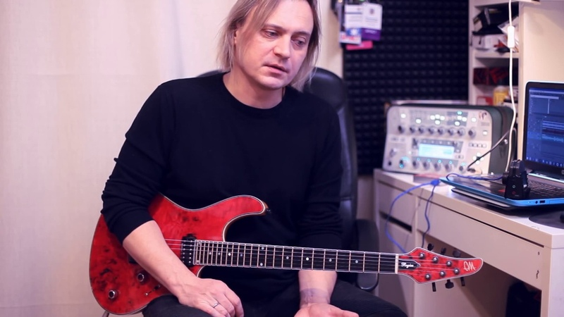 Дмитрий Андрианов 5 Melodic Rock Ballad Guitar Licks