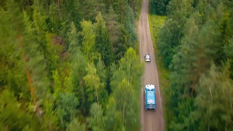 Kamaz truck vs Rally car Jump