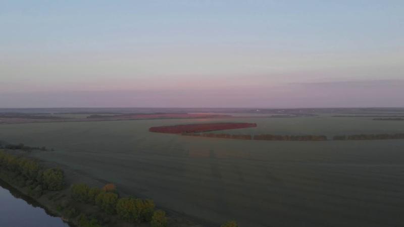 Липецкая Область2020 Рассвет над рекой Дон MavicAir