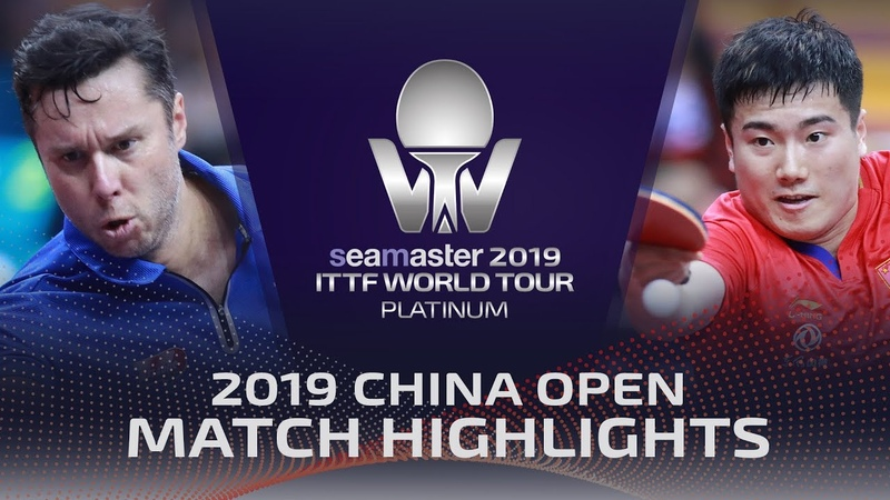 Liang Jingkun vs Vladimir Samsonov | 2019 ITTF China Open Highlights (R32)