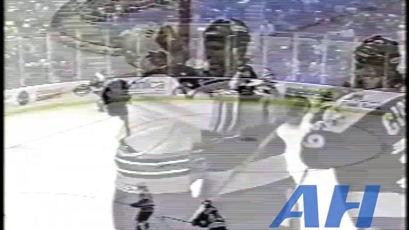NHL Mar 4 1995 Hartford Whalers v Tampa Bay Lightning R Pat Verbeek v Enrico Ciccone