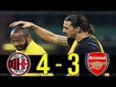 The Day AC Milan Destroyed Arsenal(And Comeback) : 11-12 Champions League AC Milan vs Arsenal