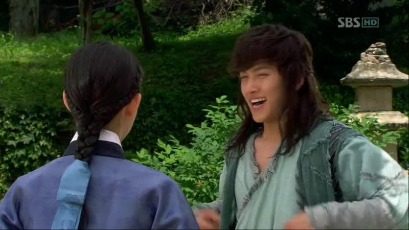 Эпизод из дорамы Воин Пэк Тон Су 7 серия Влюбленный Тон Су