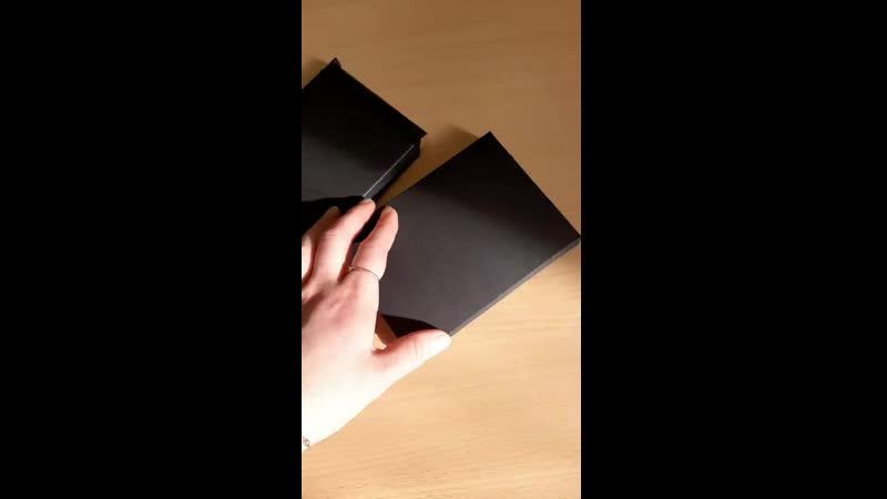 Чёрные коробки на заказ Artitel
