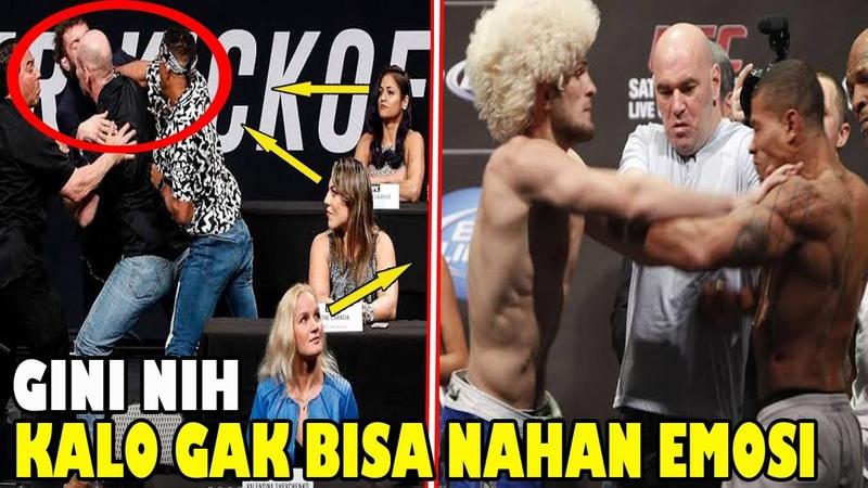 KUMPULAN MOMEN R CUH KETIKA PRESS CONFERENCE UFC MMA