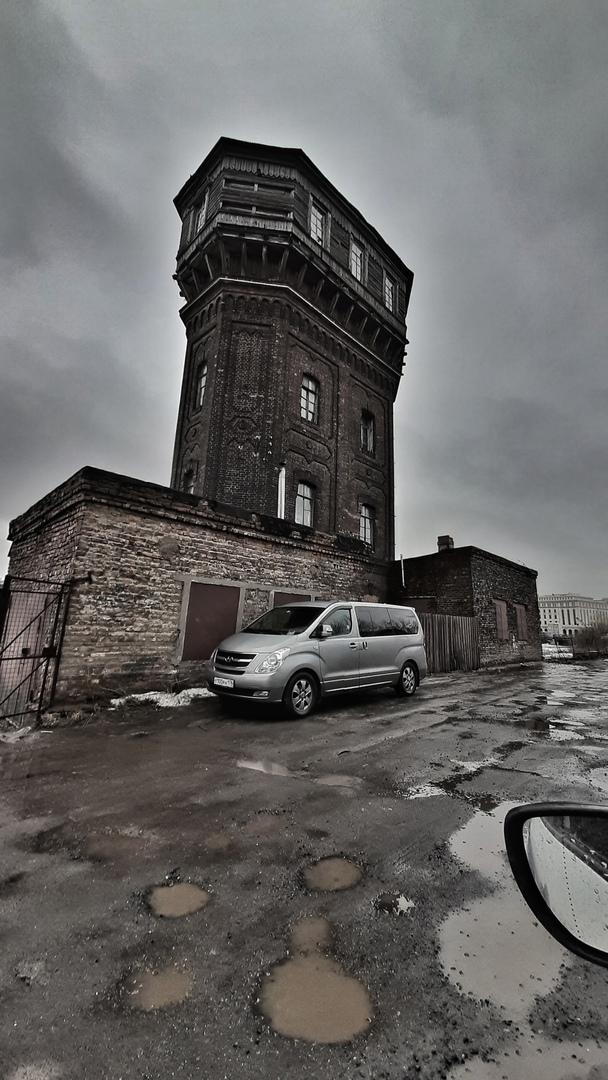 Водонапорная башня  Исторический памятник  Шкиперский проток, 25, Санкт-Петербур