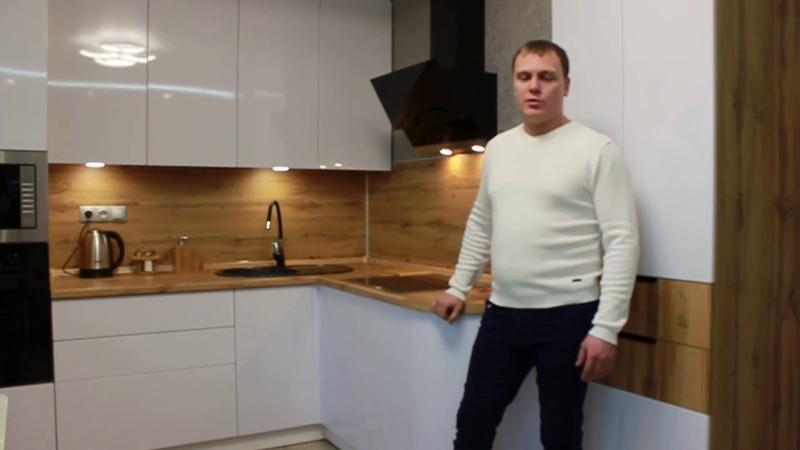Кухни Аякс Отзыв клиента Ильяса Хисамтдинова