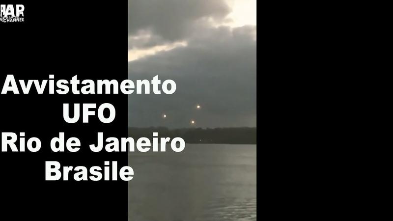 Avvistamento UFO Rio de Janeiro Brazil maggio 2020 UFO sighting Ovni Mage Alex P