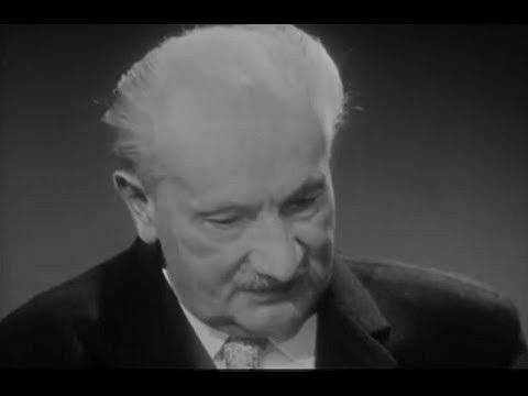 Martin Heidegger Interview with a Monk English Subtitles