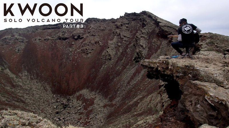 KWOON LIVE SOLO @ LANZAROTE PART 3 CORONA VOLCANO CANARY ISLANDS SPAIN AMBIENT GUITAR