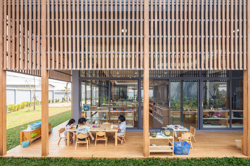 Школа Ratchut вТаиланде