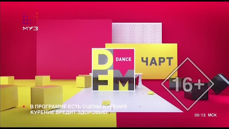 DFM чарт Заставка муз хит парада МузТв