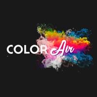 Логотип Школа - студия аэрографии ColorAIR / Ульяновск