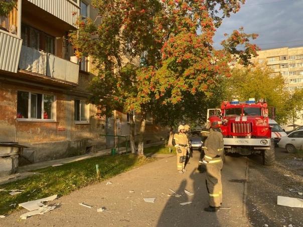 В Верхней Пышме в жилом доме произошел взрыв газа ...