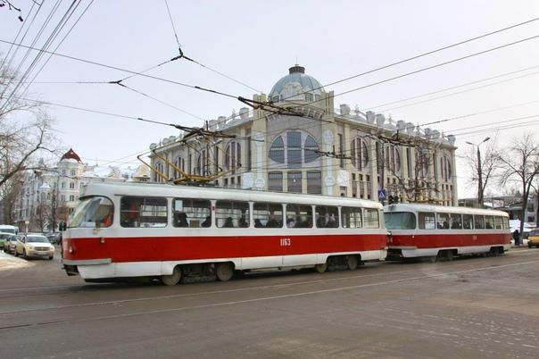 В нерабочие дни самарский общественный транспорт р...