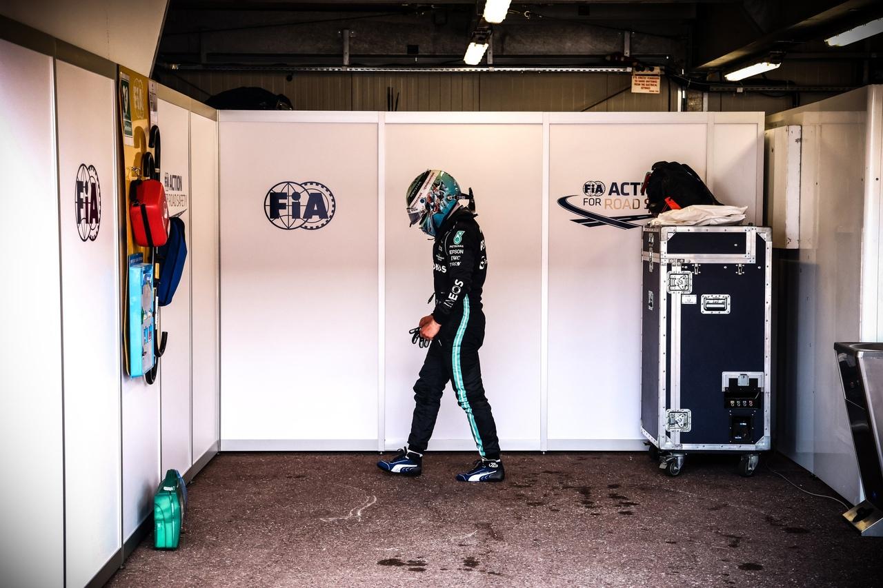 Mercedes Amg F1 team on Monaco Grand Prix