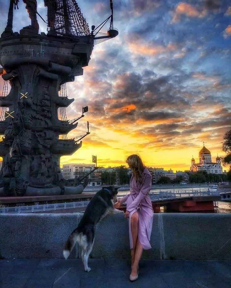 Москва со страниц Instagram
