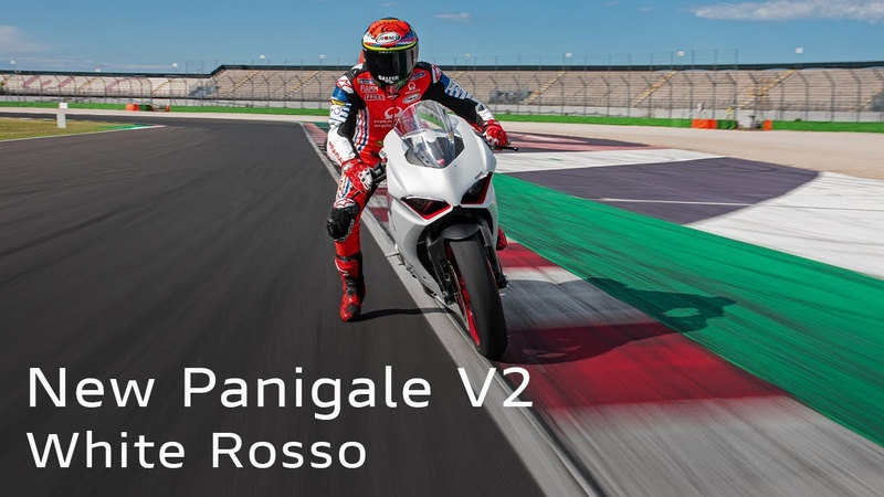 New Panigale V2 White Rosso | A Day Off with Pecco Bagnaia!