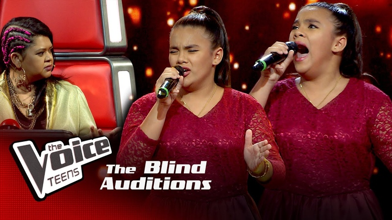 Amelia Wijesooriya Rise Like a Phoenix Blind Auditions The Voice Teens Sri Lanka