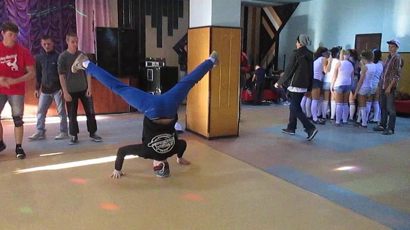 Блог Khalipov Yura Новый фарватер 2014 Bboy Snake ice Spin Новиков Евгений Виктория Бородино