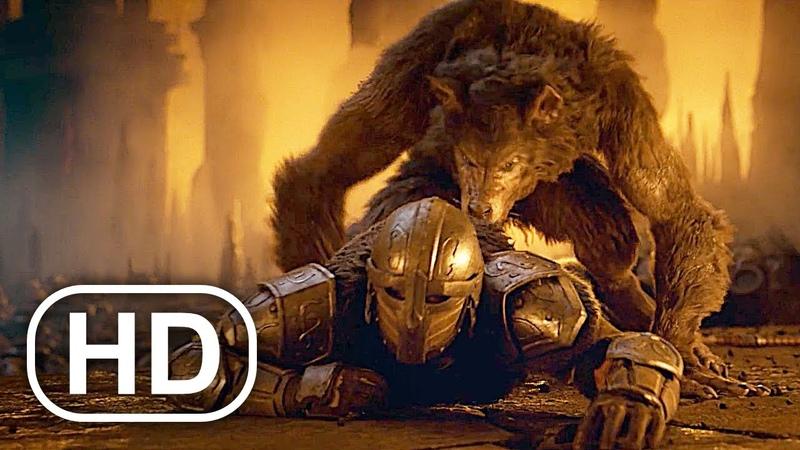THE ELDER SCROLLS Full Movie 2020 4K ULTRA HD Werewolf Vs Dragons All Cinematics Trailers