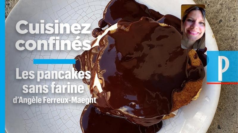 La recette des pancakes sans farine d Angèle Ferreux Maeght