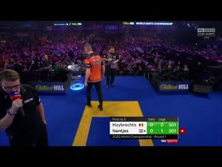 Kim Huybrechts vs Geert Nentjes (PDC World Darts Championship 2020 / Round 1)