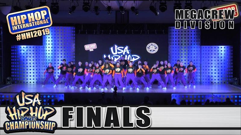 V Mo - Los Angeles, CA (1st Place MegaCrew) at HHI's 2019 USA Hip Hop Dance Championship Finals