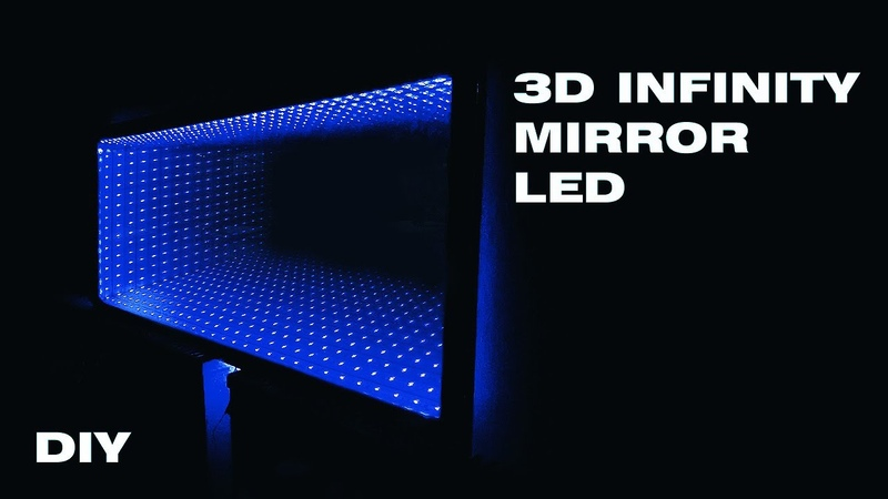 How to make an 3D Infinity Mirror with LED strip