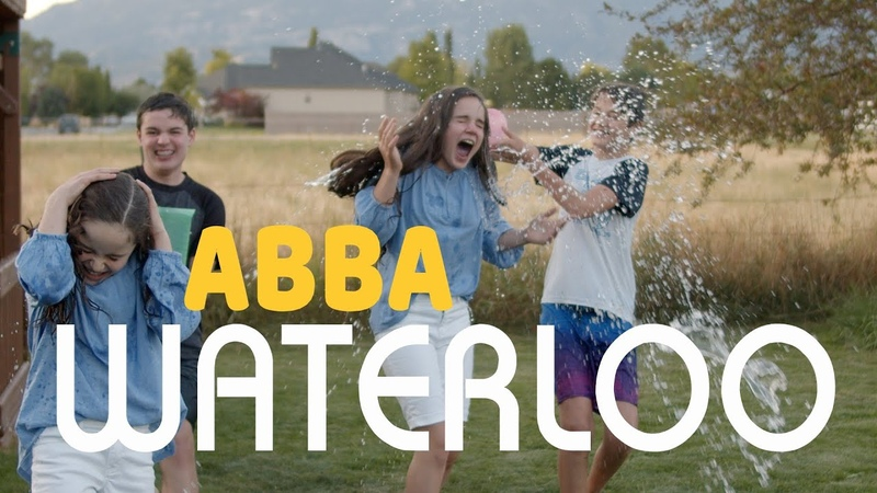 ABBA Waterloo WATER FIGHT Cover by Abby Annalie Johnson of Rise Up One Voice Children's Choir