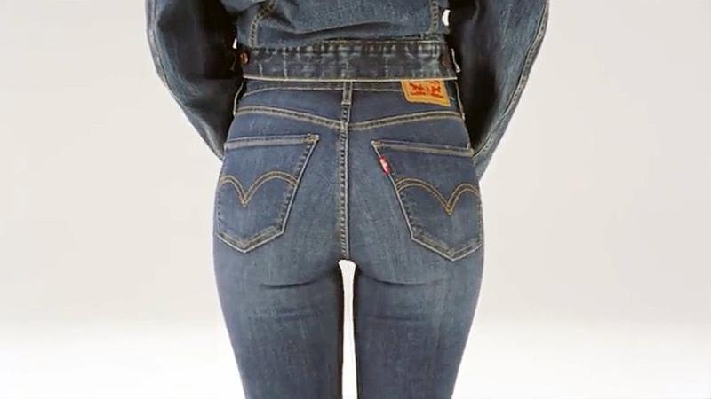 Джинсы с очень высокой посадкой Levi's Women's Mile High Super Skinny Jeans from aquamir kiev ua