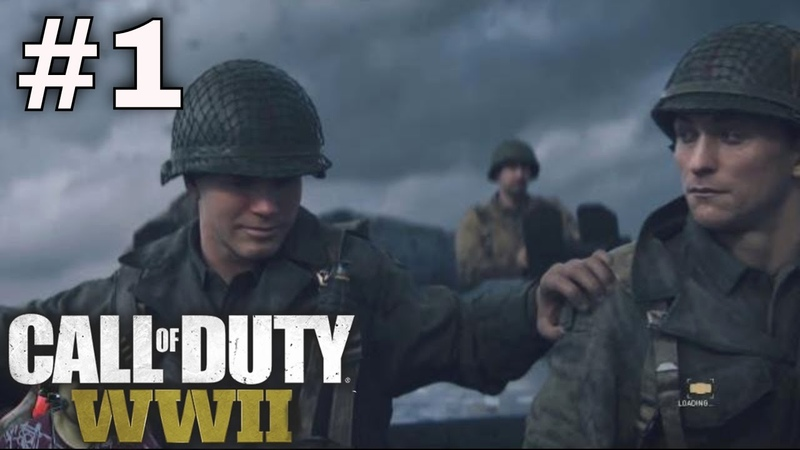 Call of Duty WWII 1 Tugas Pertama D-Day Normandy Beach Prancis Call of Duty WW2 Gameplay