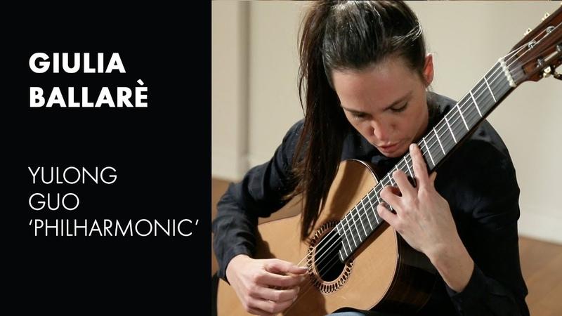 Brouwer's La Gran Sarabanda played by Giulia Ballare on a Yulong Guo Philharmonic