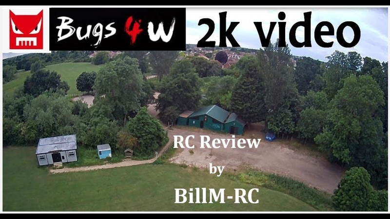 MJX Bugs 4W B4W review 2048x1152@20fps raw video sd card capture