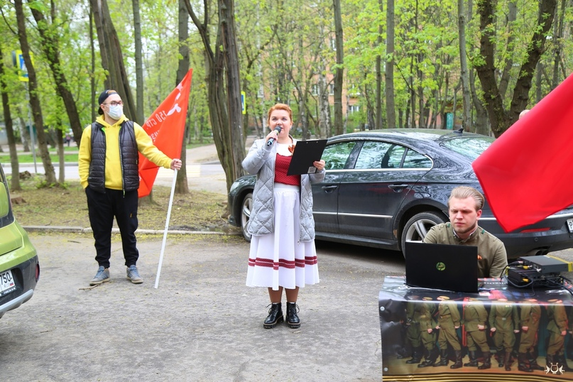 День Победы с театром «Крылья», изображение №3