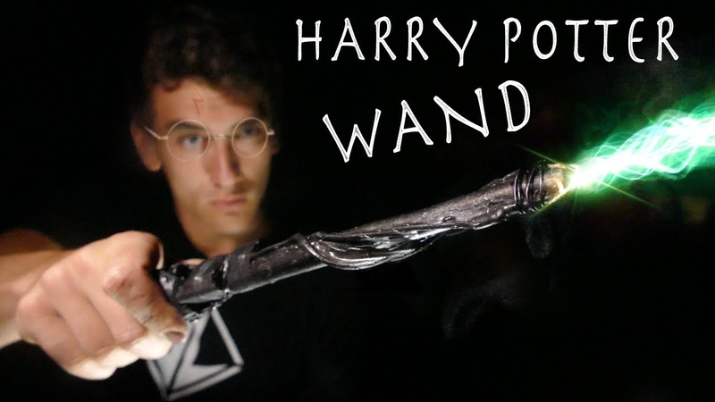 How To Make a Working HARRY POTTER WAND Real Life Spells!