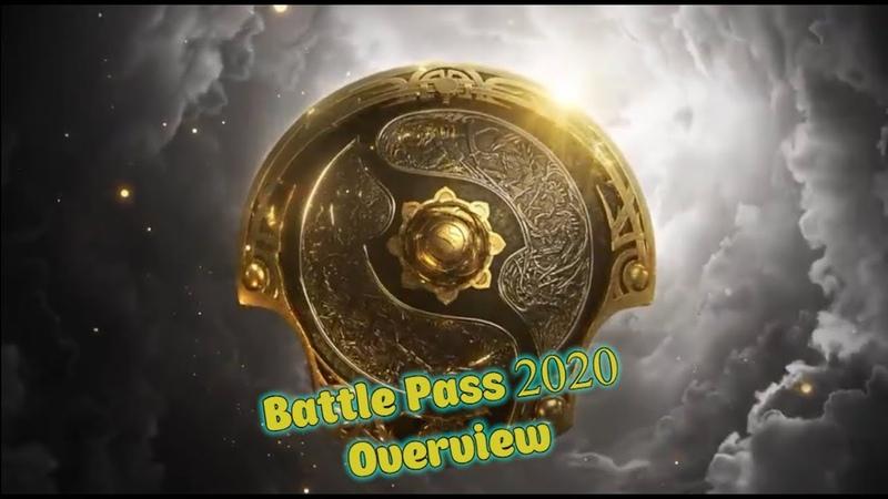 Первый взгляд на Dota 2 Battle Pass 2020