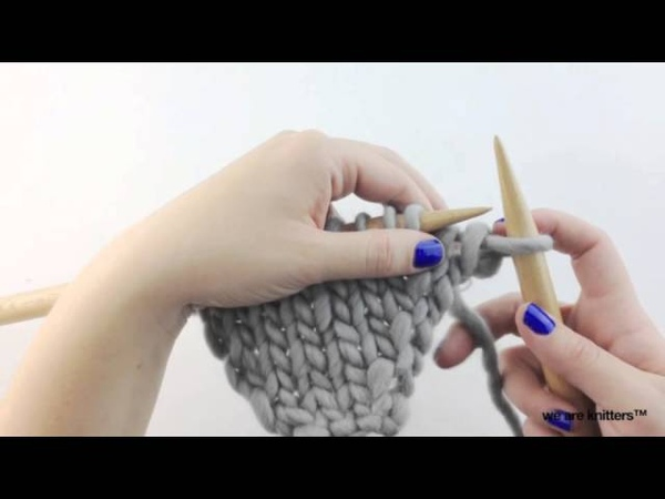 How to knit increases (Part I)   We Are Knitters