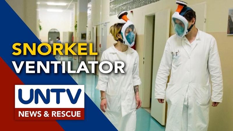 European researchers retrofit snorkel masks for COVID 19 fight