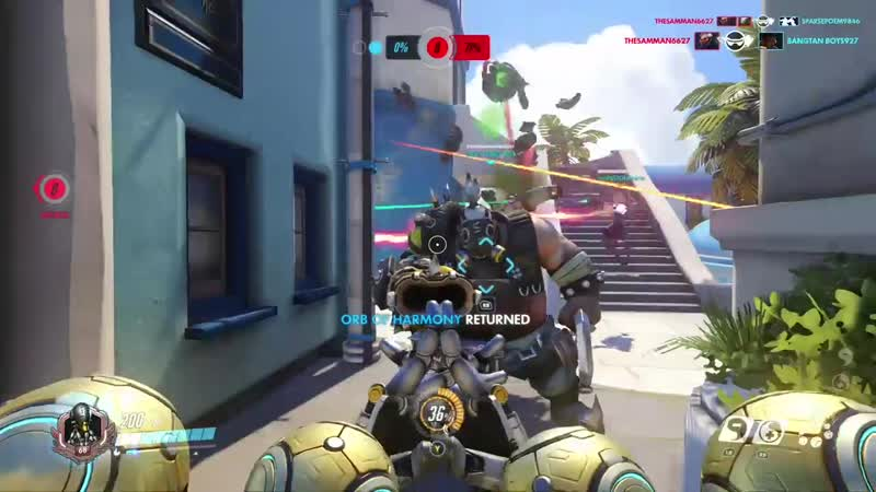 Roadhog Zenyatta alleyway is the best combo in the game and can't nobody tell me otherwise