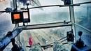 Питерский шторм глазами крановщика. Storm in through the eyes of a crane operator.
