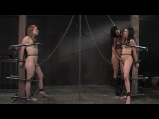CHASTITY SLAVEGIRL IS EDGED AND DENIED BY HER MISTRESS LESDOM